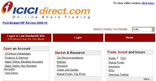 How to do options trading in icicidirect