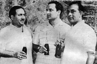 Rafi, Mukesh And Talat