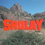The Indian Cult Movie, Sholay (1)